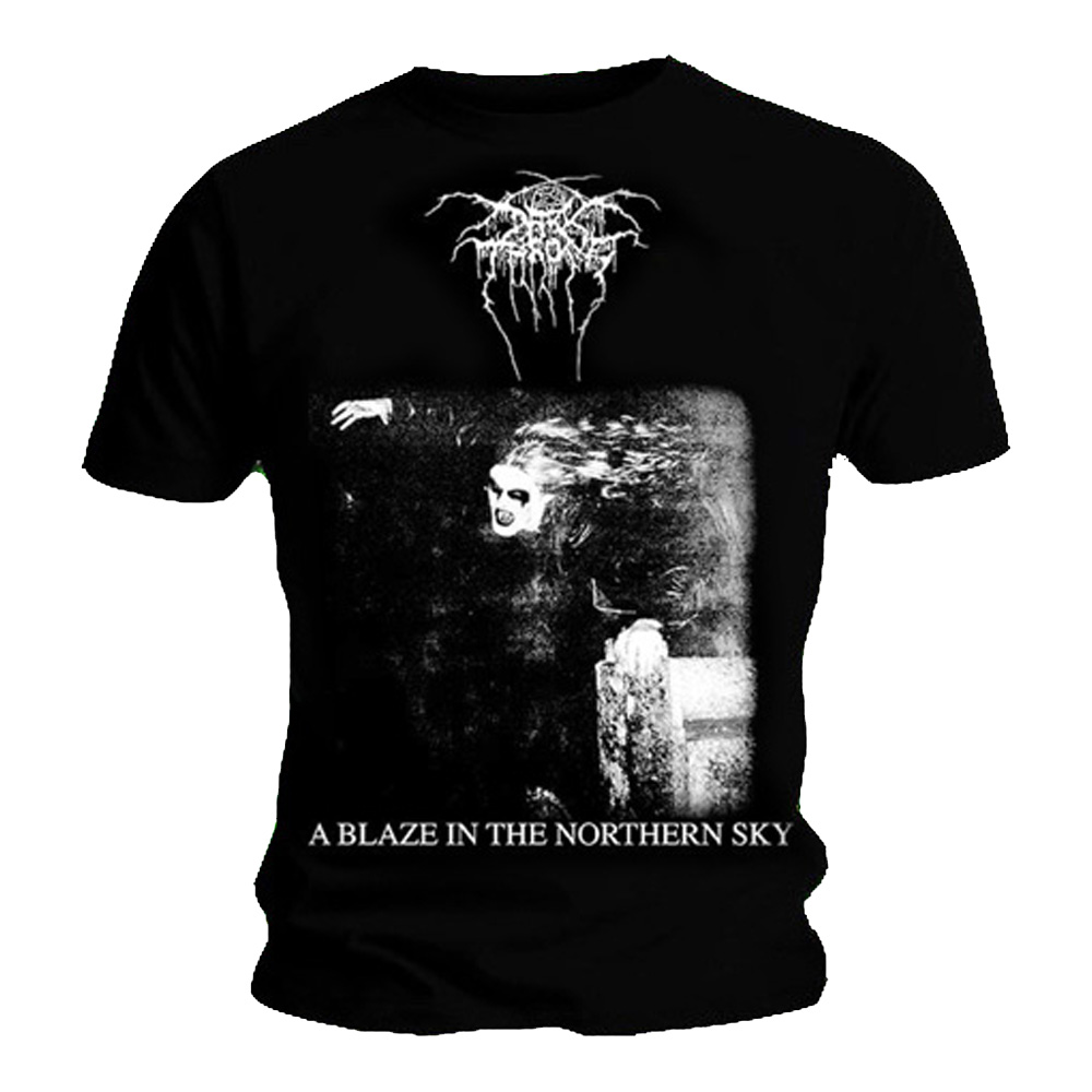 OFFICIAL LICENSED THE WIND OF 666 BLACK HEARTS T SHIRT METAL DARKTHRONE