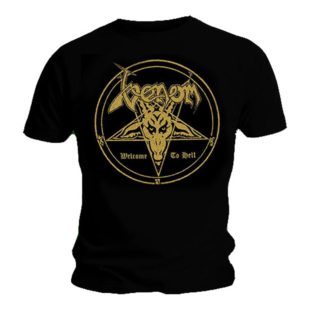 Herrenmode Welcome To Hell T-shirt T-shirts Venom