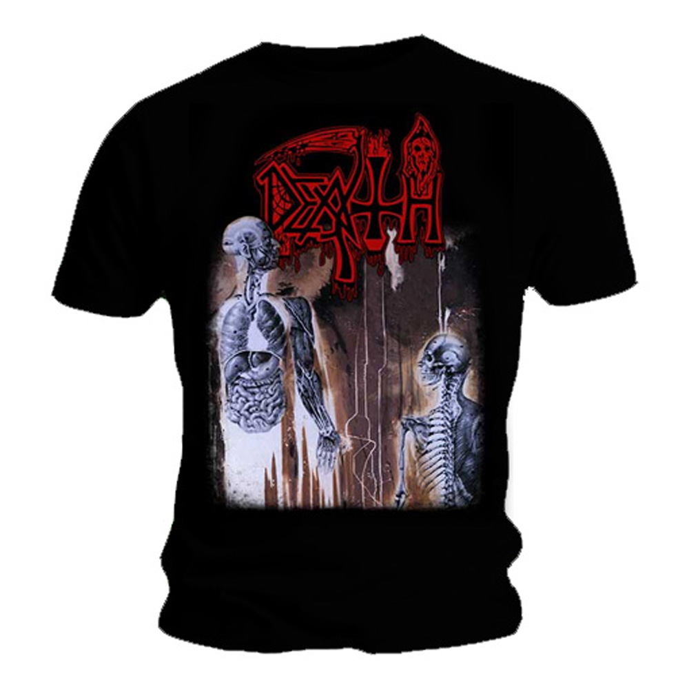 Official-T-Shirt-DEATH-Black-Death-Metal-HUMAN-Album-Cover-All-Sizes thumbnail 3