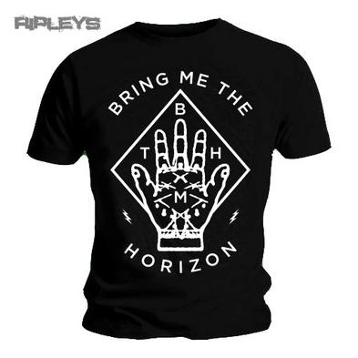 Official Unisex T Shirt BRING ME THE HORIZON Diamond Hand All Sizes
