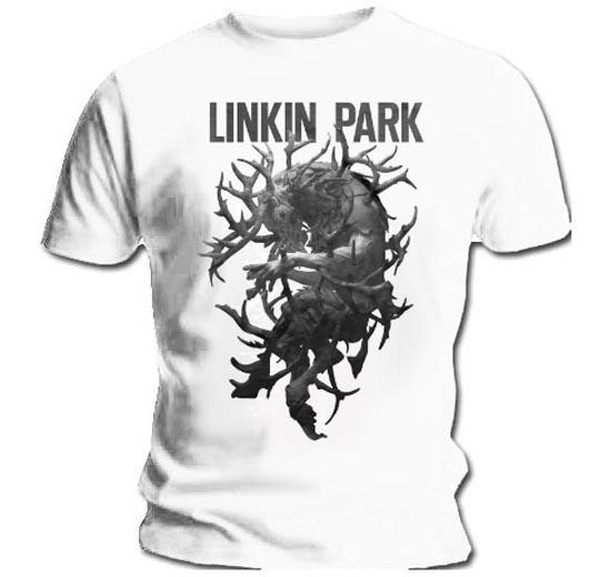 Official-T-Shirt-Linkin-Park-Blanc-Bois-la-partie-de-chasse-toutes-tailles miniature 3