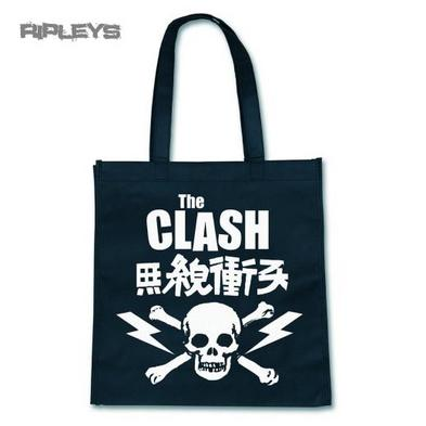 Official Eco Shopper Tote Shopping Bag THE CLASH Punk Skull