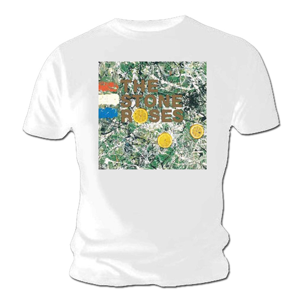 Official-T-Shirt-THE-STONE-ROSES-Original-Album-Cover-White-All-Sizes thumbnail 3