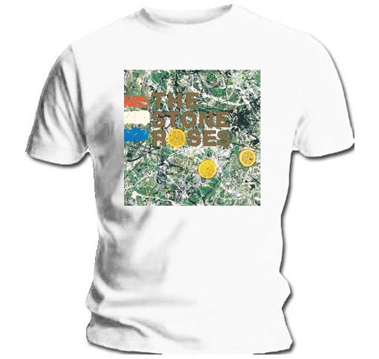 Official-T-Shirt-THE-STONE-ROSES-Original-Album-Cover-White-All-Sizes thumbnail 7