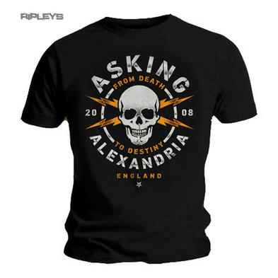 Official T Shirt Asking Alexandria DANGER Skull 2008 All Sizes