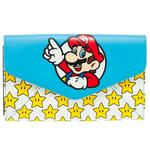 Official MARIO 64 Nintendo Game Large Purse Wallet Gold Stars Gift Thumbnail 2