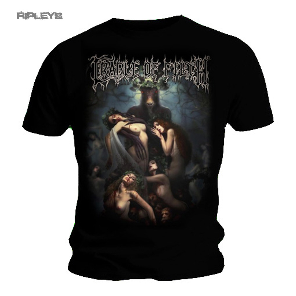 Cradle Of Filth Men/'s  Hammer Of The Witches T-shirt Black