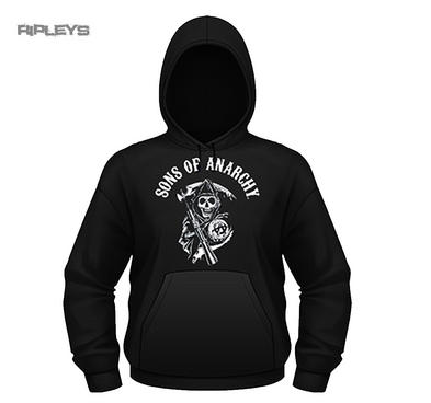 Official Sons of Anarchy Black Hoodie Hoody   Reaper CLASSIC All Sizes