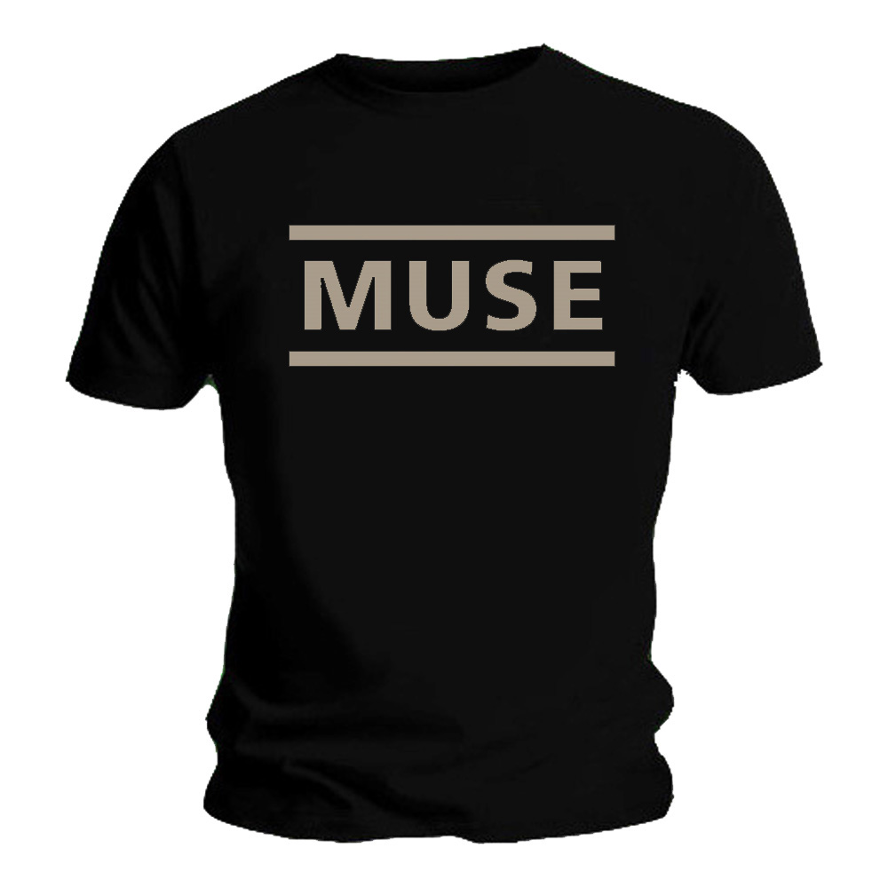 Official-T-Shirt-MUSE-Drones-Classic-LOGO-Black-All-Sizes thumbnail 3