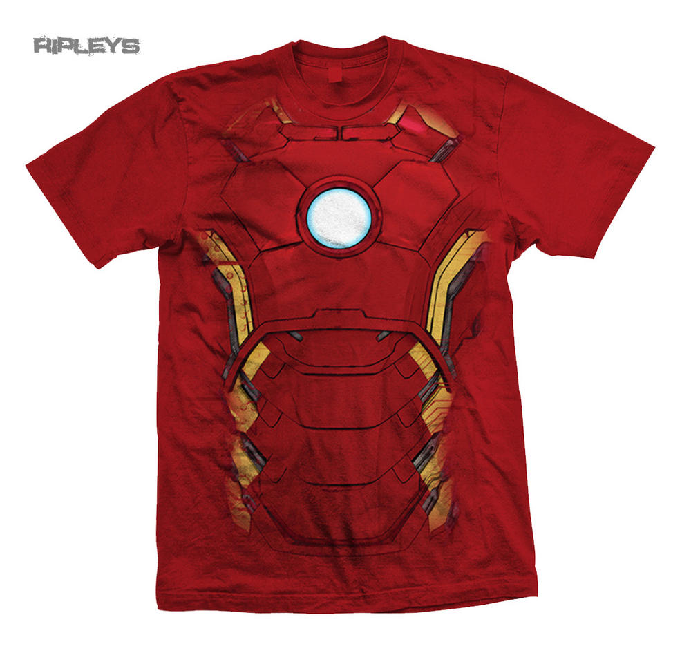 Black sabbath t shirt avengers - Official T Shirt The Avengers Iron Man Chest Print Marvel All Sizes Preview