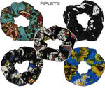 Ripleys Clothing   Hair SCRUNCHIE Tie 50s matches Hell Bunny Dress Thumbnail 1