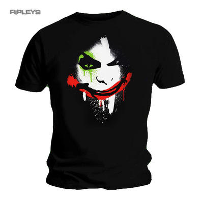 Official T Shirt DC Comics BATMAN Arkham City   JOKER Face All Sizes