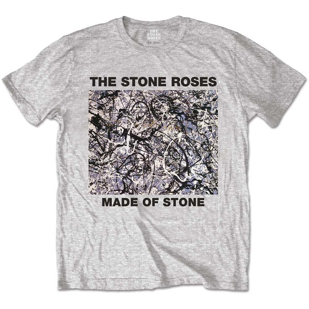 Official-T-Shirt-The-Stone-Roses-Original-Vintage-Cover-Made-of-Stone-All-Sizes thumbnail 5
