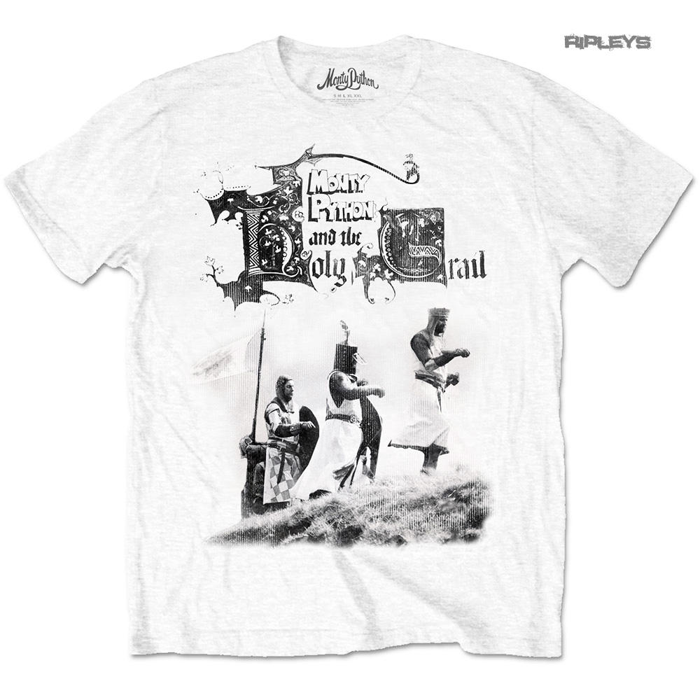 51069ab2 Official T Shirt MONTY PYTHON & The Holy Grail Knight Riders All Sizes