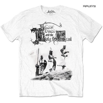 Official T Shirt MONTY PYTHON  & The Holy Grail  Knight Riders All Sizes