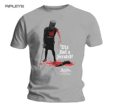 Official T Shirt MONTY PYTHON  & The Holy Grail  Tis But A Scratch All Sizes