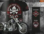 Official T Shirt EXILE CYCLES Custom Motorcycle Chopper VIOLENCE Black All Sizes Thumbnail 4