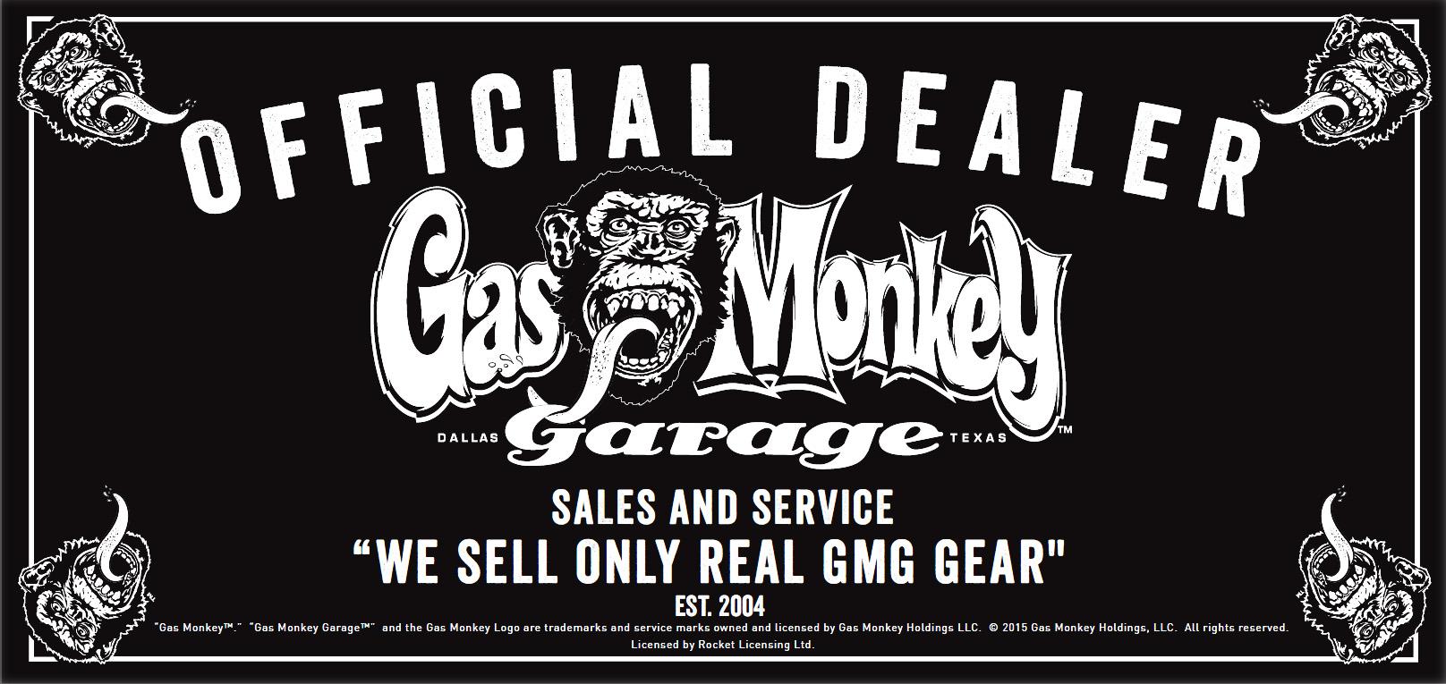 Official Gmg Black Gas Monkey Garage Hoody Hoodie