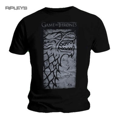 Official T Shirt Game of Thrones HUGE STARK House  All Sizes