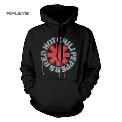 Official RED HOT CHILI PEPPERS Hoody Hoodie STENCIL Asterisk All Sizes