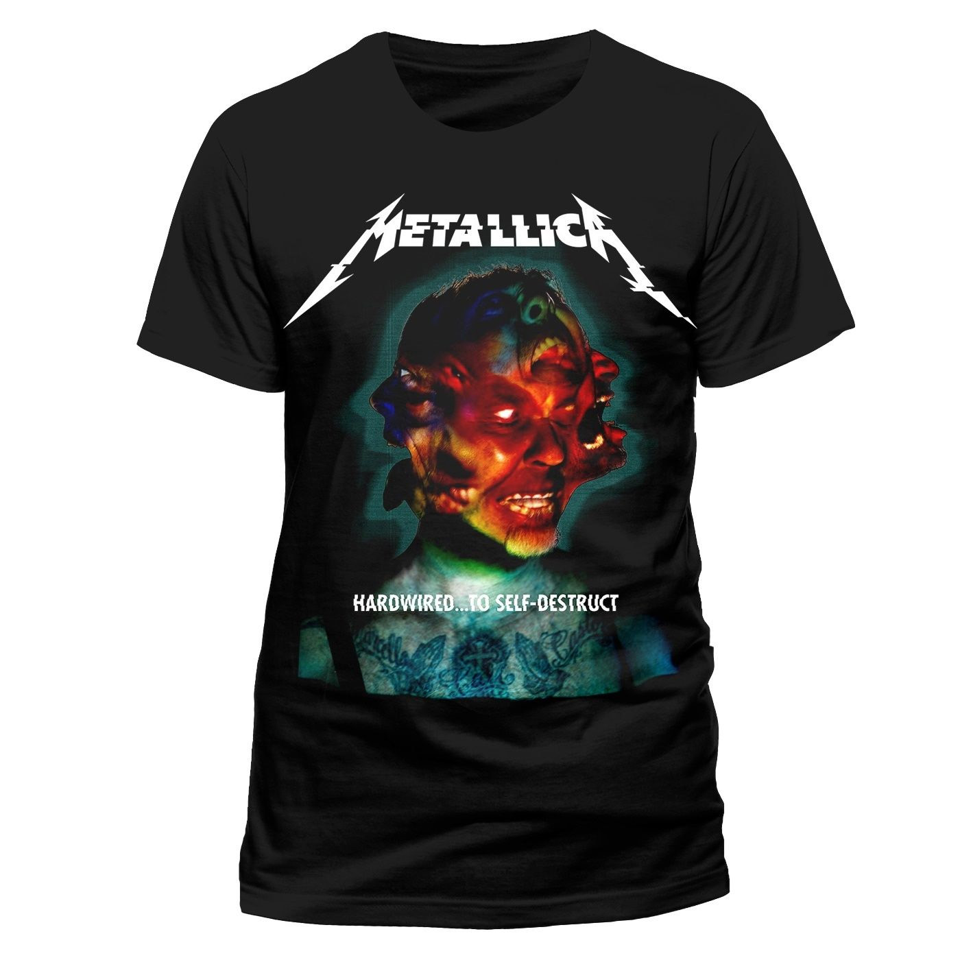 Official-T-Shirt-METALLICA-Hardwired-To-Self-Destruct-ALBUM-Cover-All-Sizes thumbnail 11