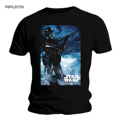 Official Unisex T Shirt STAR WARS Rogue One RAIN Death Trooper All Sizes