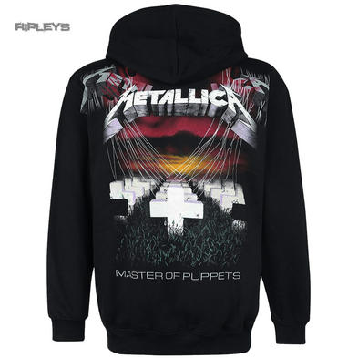 Official METALLICA Hoody Hoodie MOP Master of Puppets Zip All Sizes
