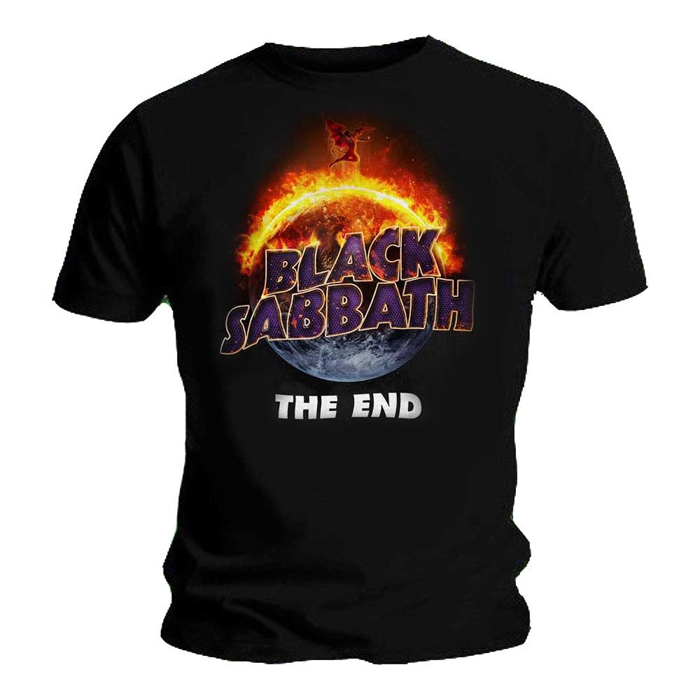 Official-T-Shirt-BLACK-SABBATH-Live-Album-THE-END-Cover-All-Sizes miniatuur 3