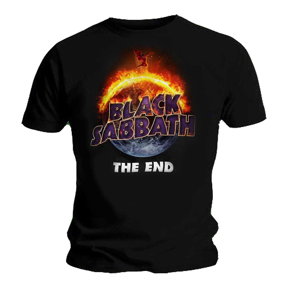 Official-T-Shirt-BLACK-SABBATH-Live-Album-THE-END-Cover-All-Sizes miniatuur 9