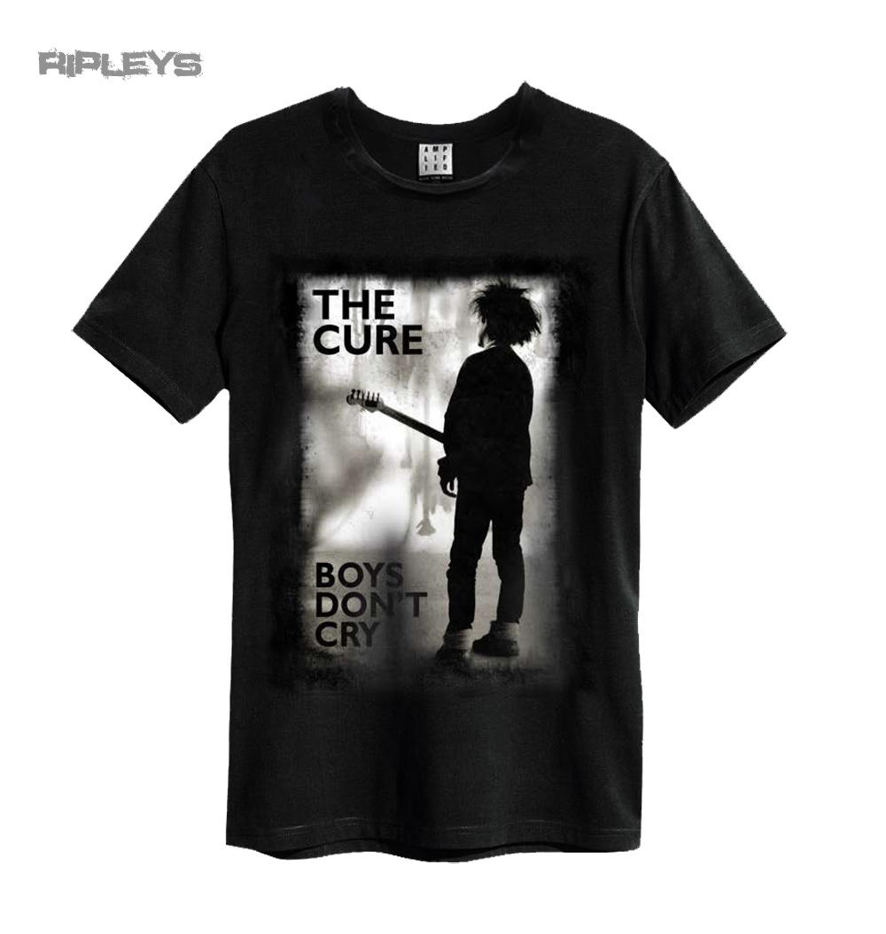 99dcd21fc Official Amplified Black Vintage T Shirt THE CURE Boys Don't Cry All Sizes