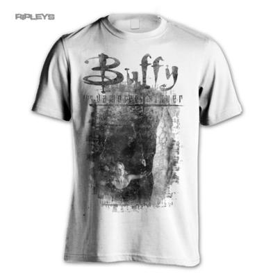 Official T Shirt BUFFY The Vampire Slayer SHACKLED Distressed All Sizes