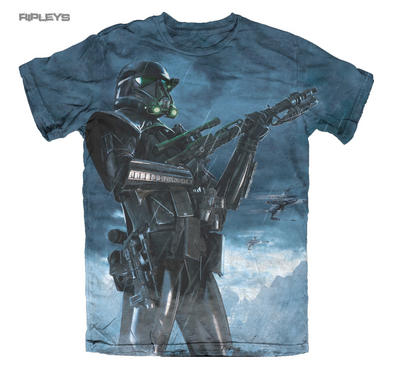 Official T Shirt STAR WARS Rogue One DEATH POSE Sublimation All Sizes