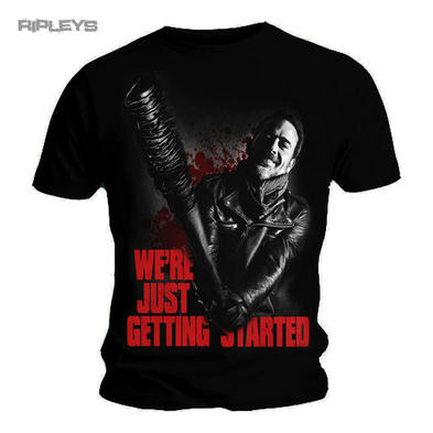 Spiral The Walking Dead Unisex T Shirt NEGAN Just Getting Started All Sizes