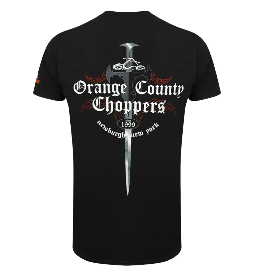 Official Orange County Choppers OCC College Script T-Shirt