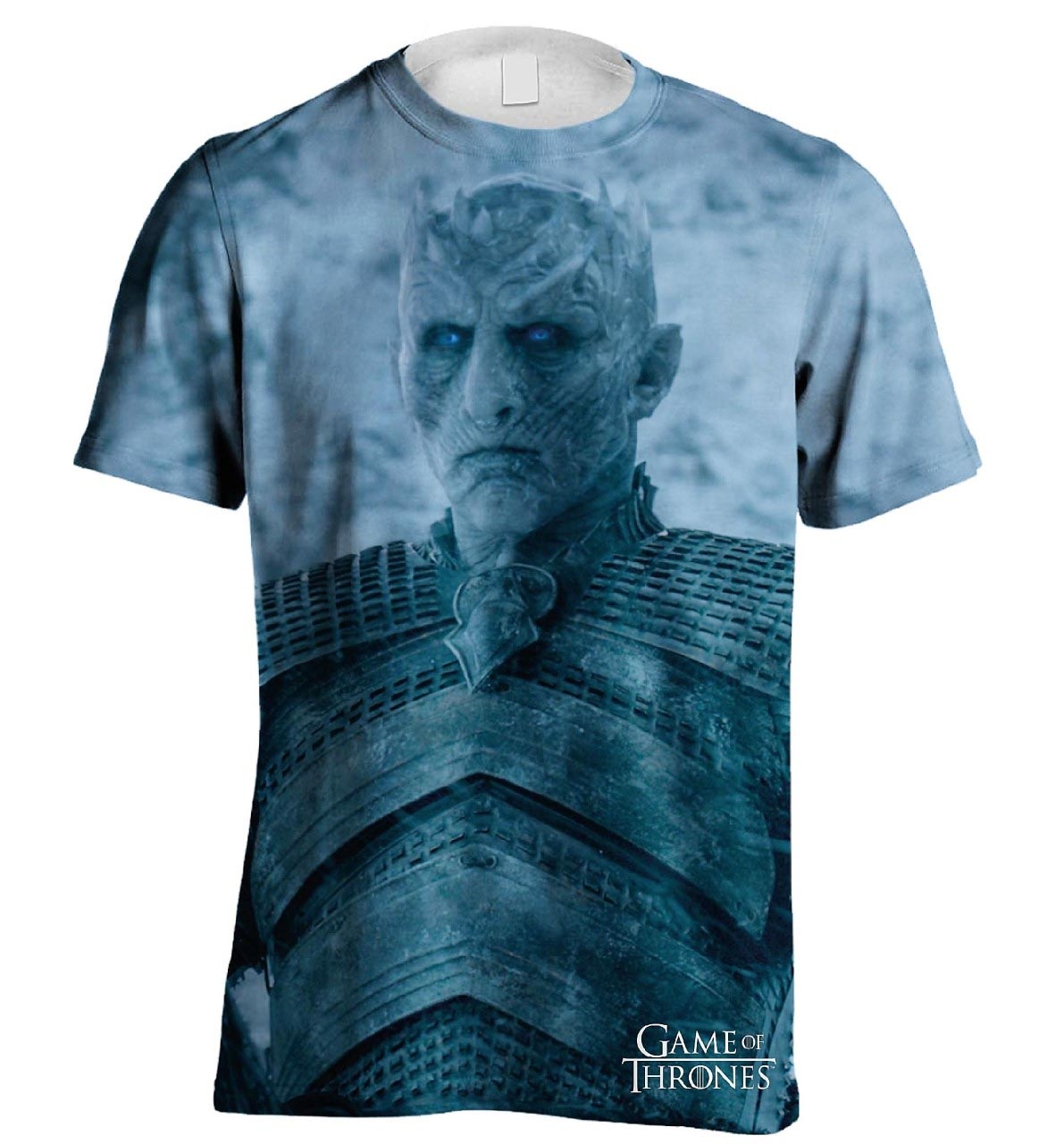 33 Night King From Game Of Thrones By Scepterdpinoy On: Official T Shirt GAME OF THRONES White Walker Night King