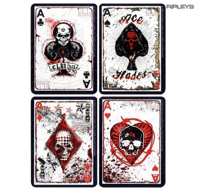 Official Alchemy England Poker Playing Cards UL13 Tattoo Skulls Goth Gift