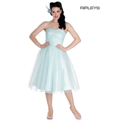Hell Bunny Party Prom Dress Princess Fairy TAMARA Net Mint Green All Sizes