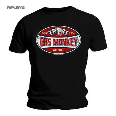Official T Shirt Gas Monkey Garage Dallas Texas SINCE 2004 Label All Sizes Preview