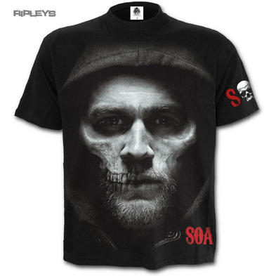 Spiral Sons of Anarchy Unisex T Shirt JAX SKULL Crew Samcro All Sizes Preview