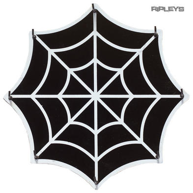 Sourpuss Alternative Gothic Halloween Black KEY HOLDER Spider Web Gift