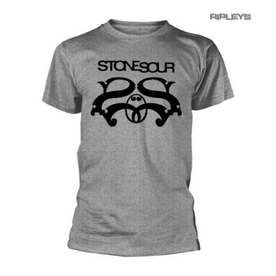 Official T Shirt STONE SOUR Corey Taylor LOGO Marl Grey All Sizes