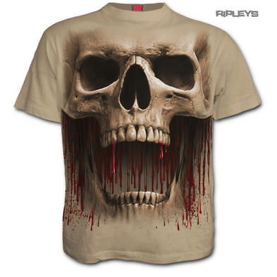 Spiral Direct Unisex Stone T Shirt Goth DEATH ROAR Giant Skull All Sizes