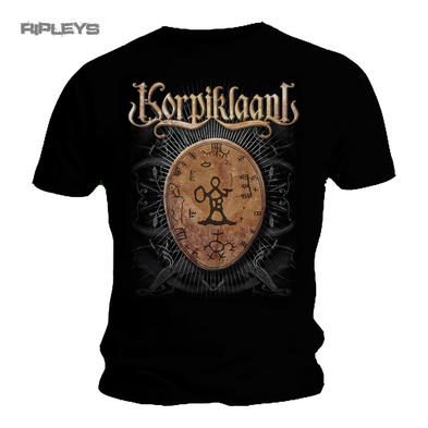 Official T Shirt KORPIKLAANI Shaman Folk Metal Shaman DRUM Logo All Sizes