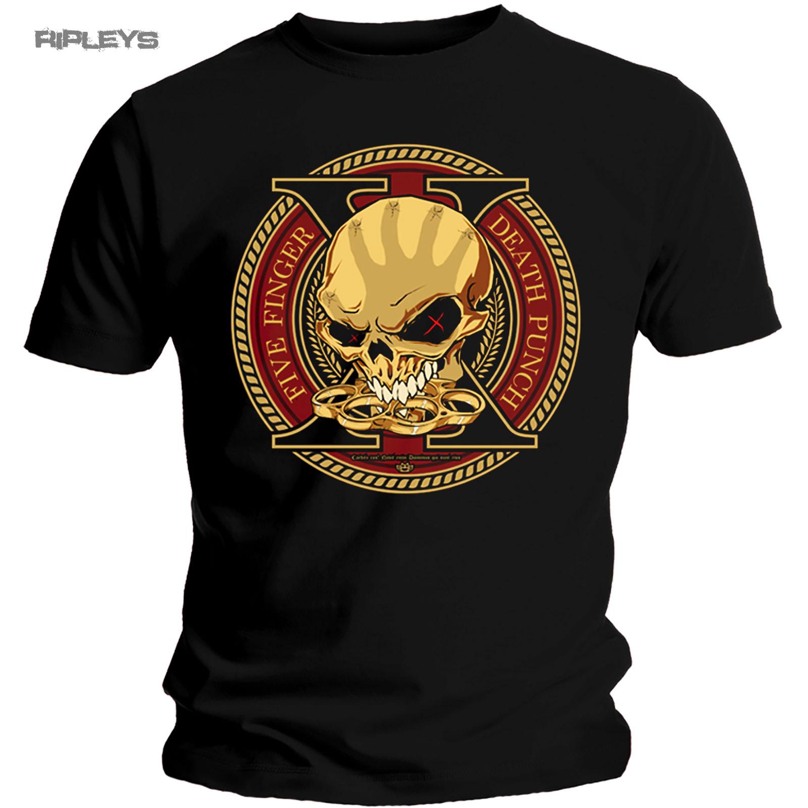 Official-T-Shirt-Five-Finger-Death-Punch-Album-DECADE-of-Destruction-All-Sizes thumbnail 10