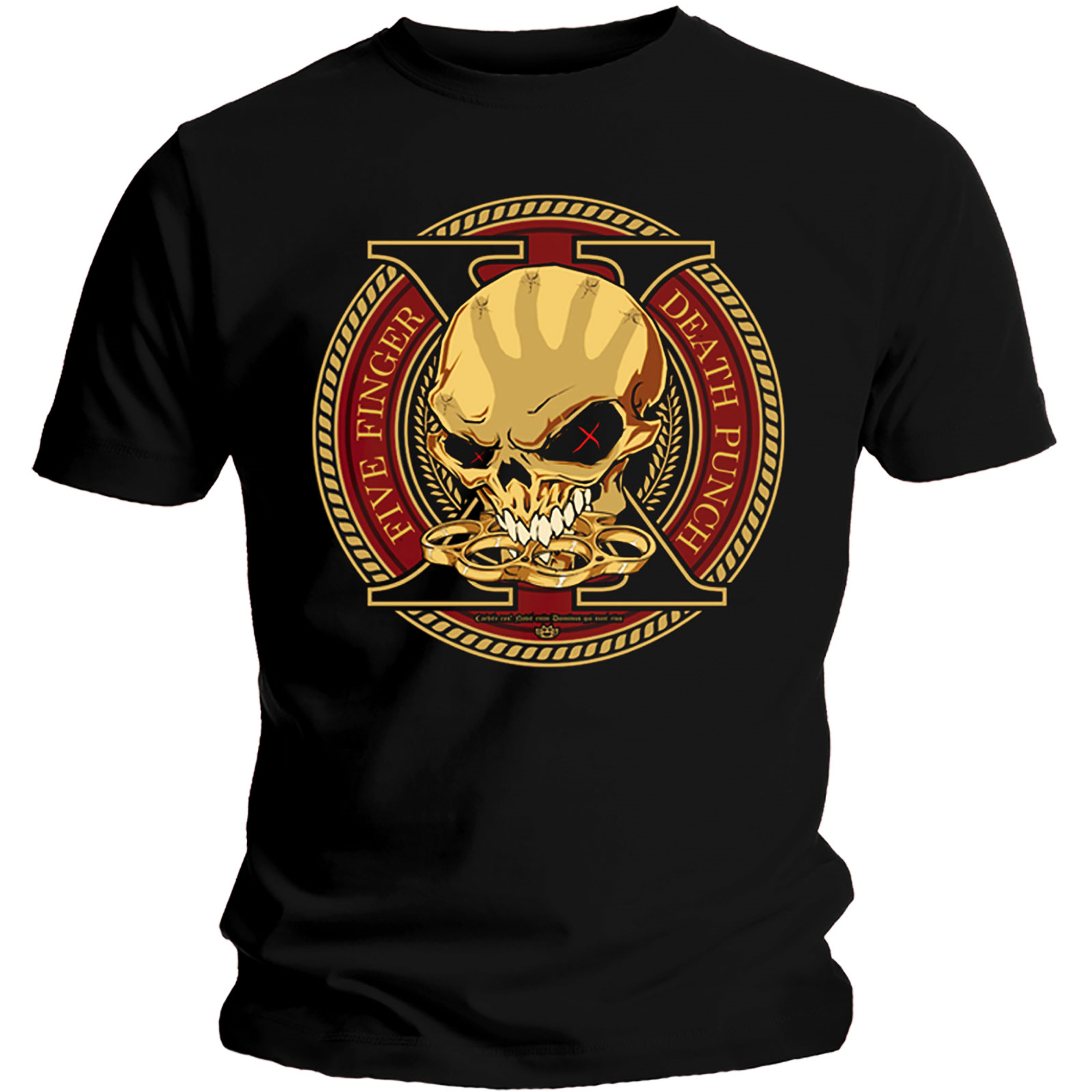 Official-T-Shirt-Five-Finger-Death-Punch-Album-DECADE-of-Destruction-All-Sizes thumbnail 9