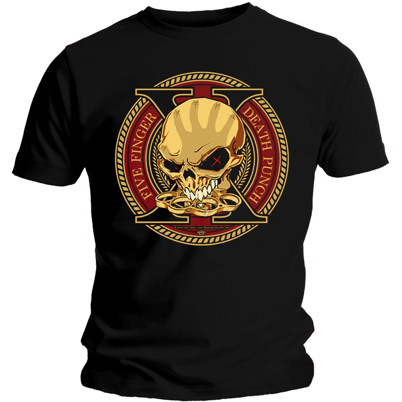 Official-T-Shirt-Five-Finger-Death-Punch-Album-DECADE-of-Destruction-All-Sizes thumbnail 5
