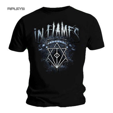 Official T Shirt IN FLAMES Heavy Metal Battles CREST Album All Sizes