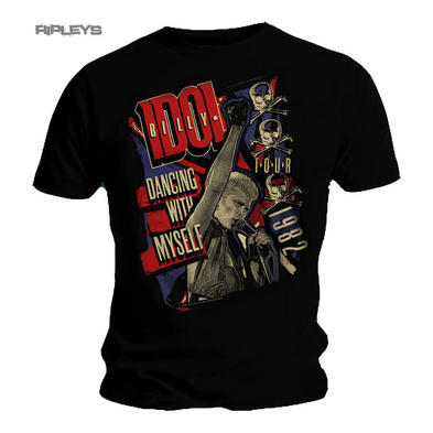Official T Shirt BILLY IDOL Tour 1982 'Dancing With Myself' All Sizes