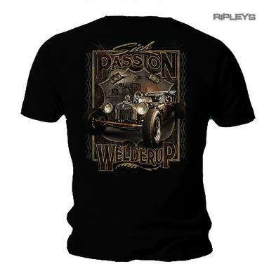Official WELDERUP Garage Custom Hot Rod T Shirt D-Rod 'Sick Passion' Rat Rod