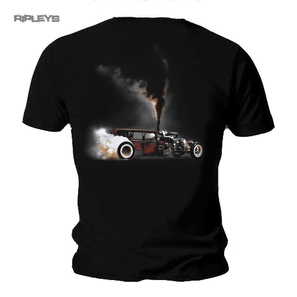 13ec91e9 Official WELDERUP Garage Custom Hot Rod T Shirt Car 'Storm' Rat Rod